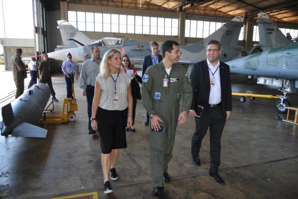 A nova aeronave será operada pelo 1° Grupo de Defesa Aérea a partir de Anápolis