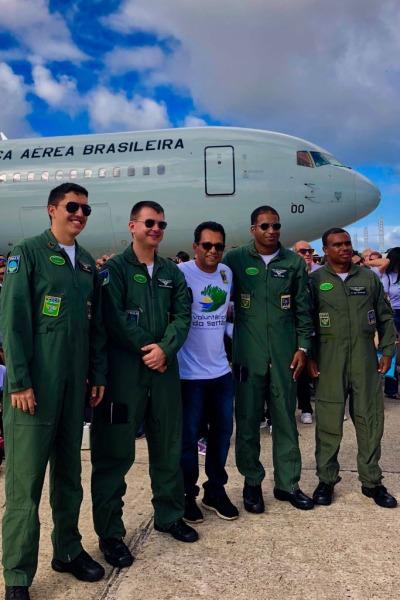 Esquadrão Corsário realizou o transporte dos voluntários