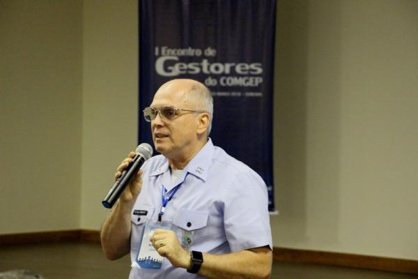 Tenente-Brigadeiro Bermudez fala aos participantes