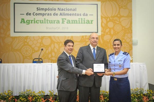 Durante o evento foi apresentada a evolução da execução orçamentária da FAB nos créditos para aquisição de alimentos