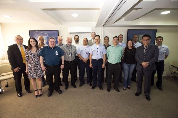 Especialistas do DECEA e FAA reuniram-se no Rio de Janeiro