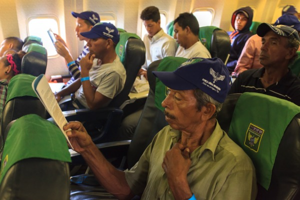 Primeiro voo transportou 116 venezuelanos