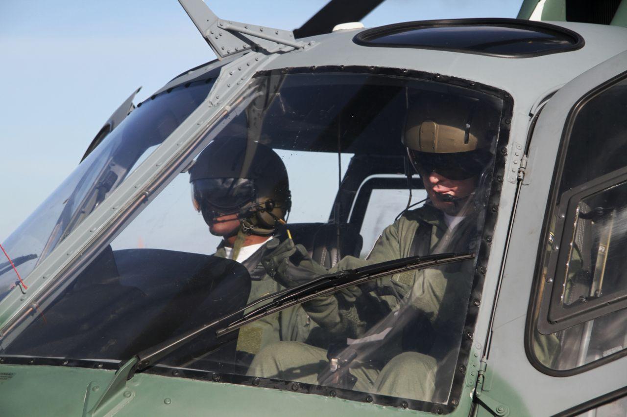 Os voos fazem parte do Programa de Especialização Operacional