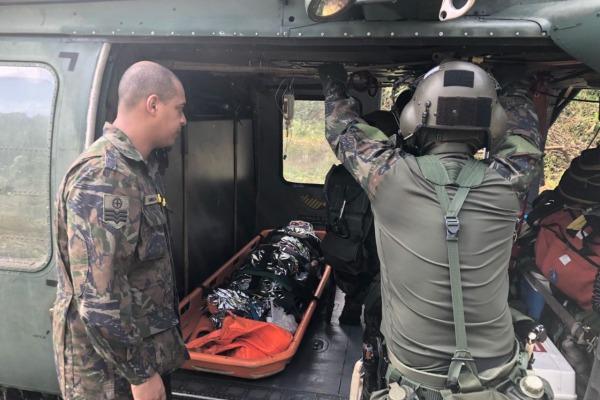 Vítima foi encaminhada para o Hospital de Emergência de Macapá