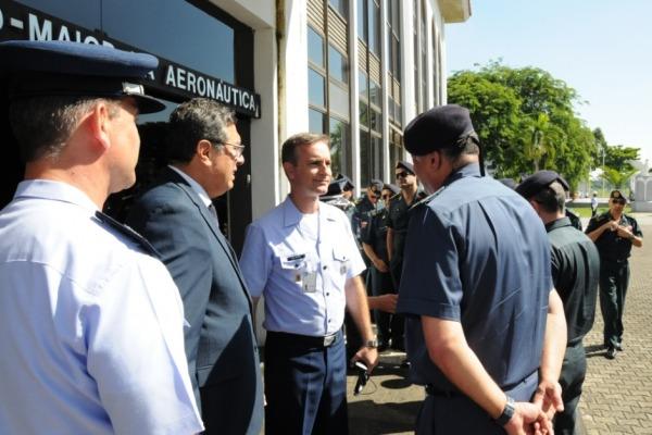 Militares também visitaram o Centro Conjunto de Operações de Paz do Brasil