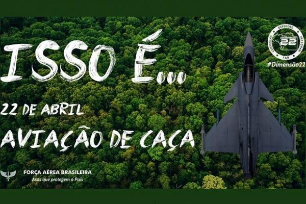 Vídeo homenageia Aviação de Caça