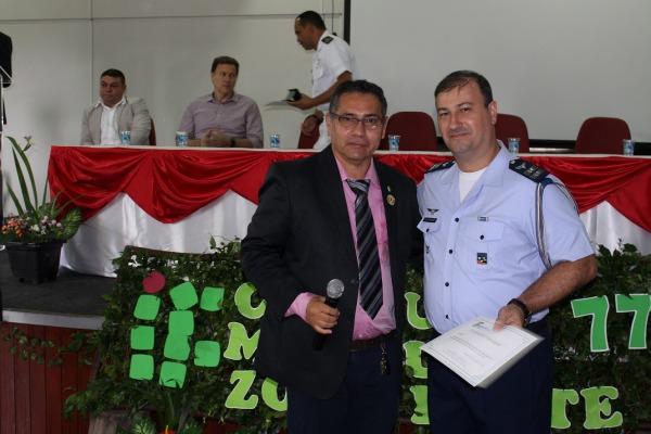 Homenagem ocorreu durante cerimônia de comemoração dos 77 anos do Instituto Federal de Educação Ciência e Tecnologia do Amazonas