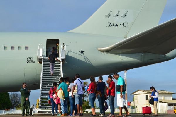 Desta vez, imigrantes foram transportados para São Paulo (SP) e Manaus (AM)