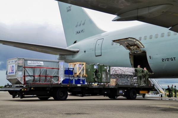 Aeronave decolou do aeroporto do Galeão, no Rio de Janeiro