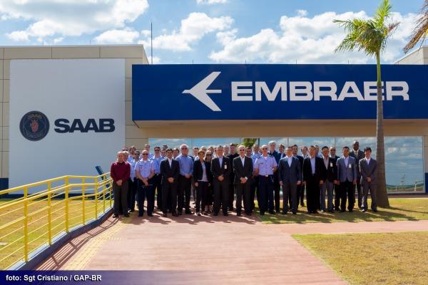 O grupo se reuniu em Brasília e compartilhou experiências logísticas e operacionais do Gripen