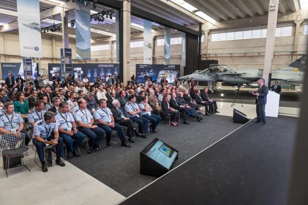 Saab Aeronáutica Montagens produzirá seis segmentos para o caça brasileiro