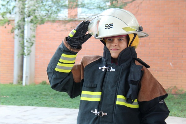 Instrução foi ministrada pelos bombeiros da FAB que assistem o Aeroporto Internacional de Guarulhos