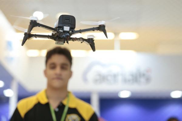 Unidade também participou do 5º Fórum de Empresários de Drones