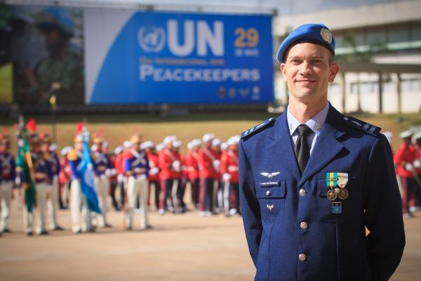 Major Klüppel atuou nas forças de paz do Saara Ocidental: um ano de aprendizado