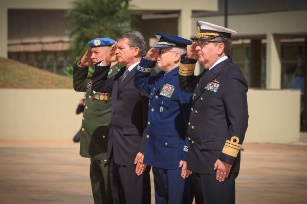 Cerimônia lembrou dos capacetes azuis que perderam a vida em missões nos últimos 70 anos