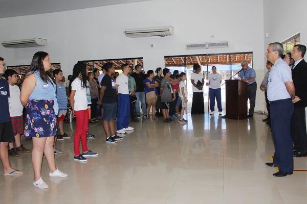 Estudantes realizarão atividades esportivas, de lazer e integração social