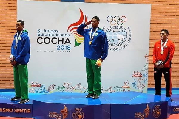 Somente na modalidade de Jiu-Jítsu foram conquistadas quatro medalhas