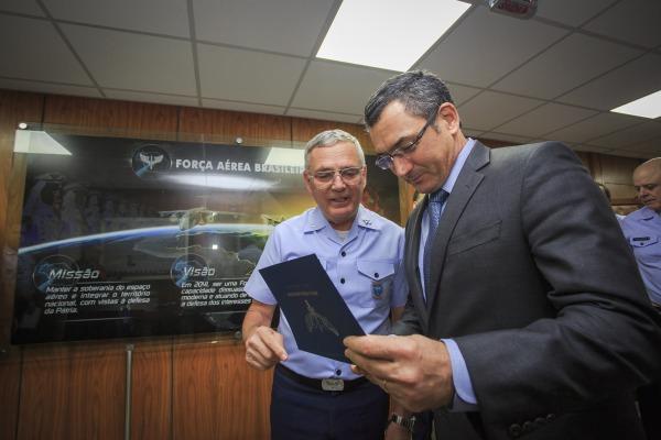 Oficiais-generais da FAB participaram da reunião