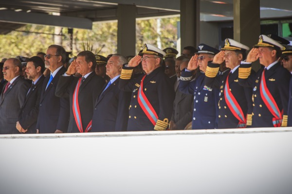 Autoridades civis e militares prestigiaram a cerimônia