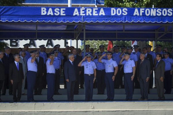 Comandante da Força Aérea Brasileira presidiu a cerimônia