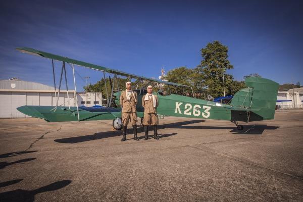 Aeronave Curtiss Fledgling protagonizou o primeiro transporte
