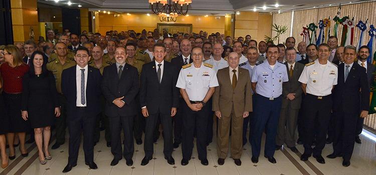 Cerimônia contou com a presença de diversas autoridades