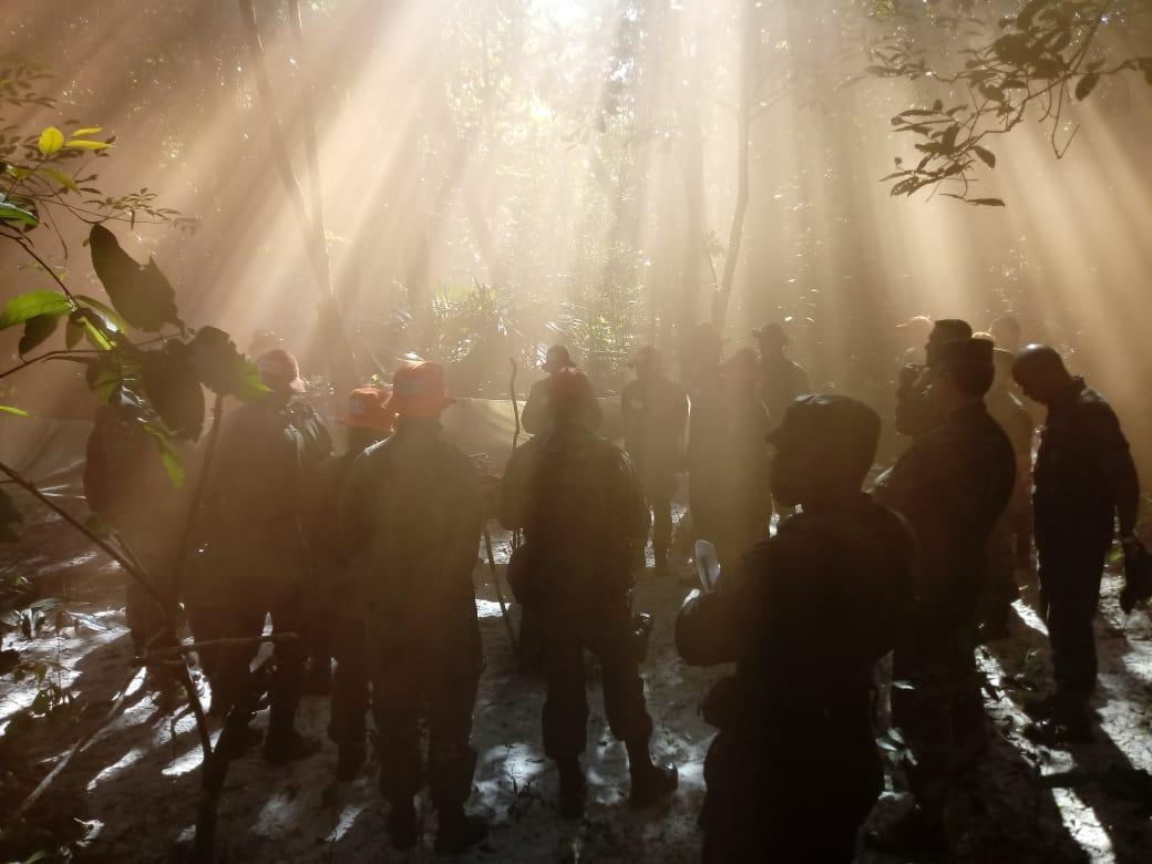 Objetivo é proporcionar ao futuro oficial conhecimentos inerentes aos procedimentos a serem adotados por um militar sobrevivente em áreas de selva