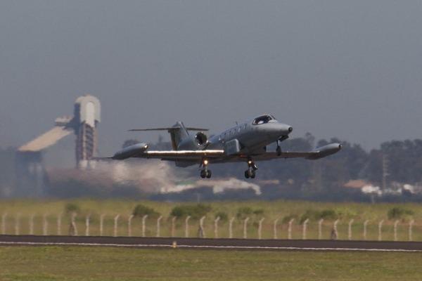 Aviões R-35 são utilizados pelo Esquadrão Carcará