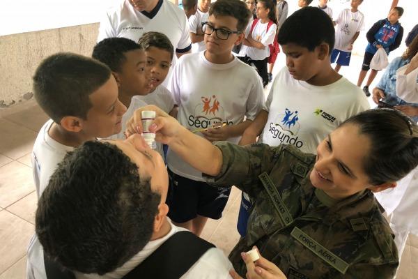 109 crianças do PROFESP participaram das atividades