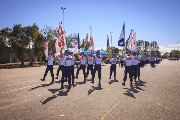 Comandantes de Esquadrões, pilotos e militares foram homenageados