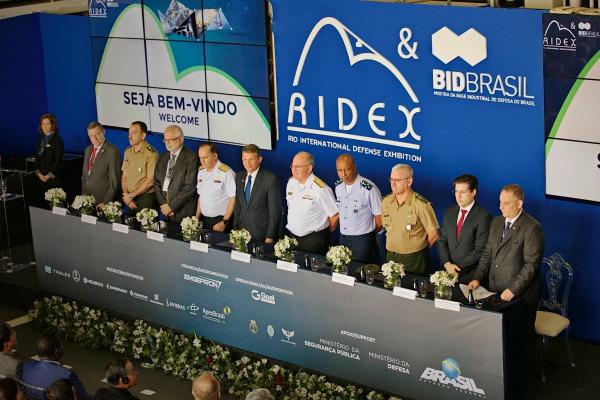 A RIDEX-BID 2018 começou nesta quarta (27) e segue até sexta (29), com mais de 23 delegações internacionais visitantes