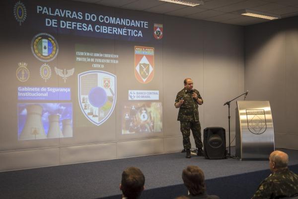 Exercício Guardião Cibernético está sendo coordenado pelo Comando de Defesa Cibernética do Exército Brasileiro