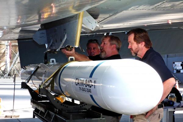 Objetivo foi realizar a certificação do míssil Harpoon