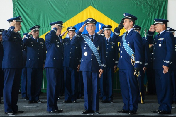 Cerimônia marcou despedida do Tenente-Brigadeiro do Ar Carlos Augusto Amaral Oliveira