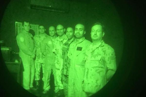 Militares da FAB e da Marinha do Brasil participaram das instruções