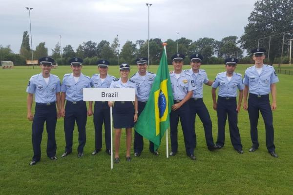 Atletas da FAB representam o Brasil entre 12 nações