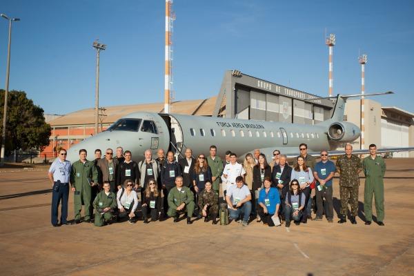 Os visitantes conheceram a atuação de diversas Unidades do Exército e da FAB na região