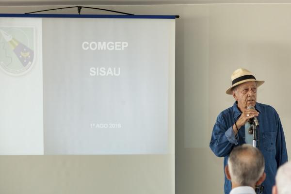 Coronel José Isaias Villaça é o organizador do evento