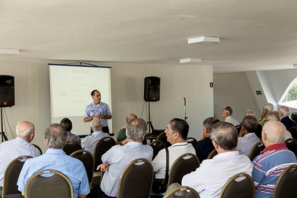 Encontro de militares reformados e da reserva da FAB ocorreu em Brasília (DF)