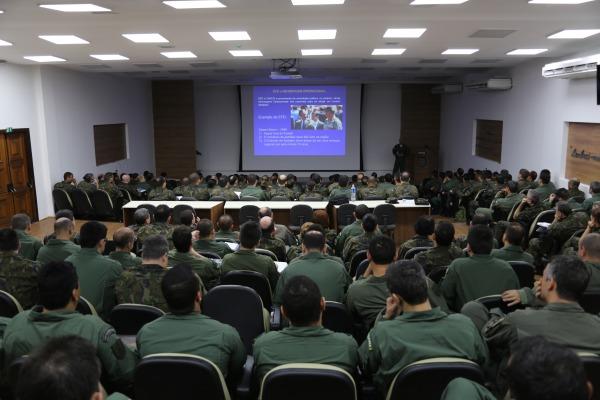 Atividade requer planejamento dos militares diante da situação de um conflito fictício