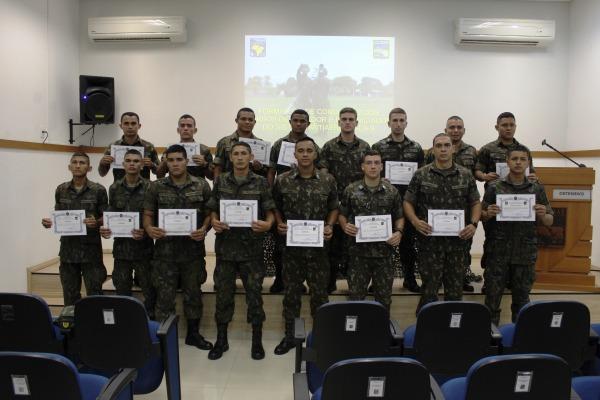 Durante um mês, os alunos receberam instruções teóricas e práticas sobre o Sistema de Defesa Antiaérea da FAB
