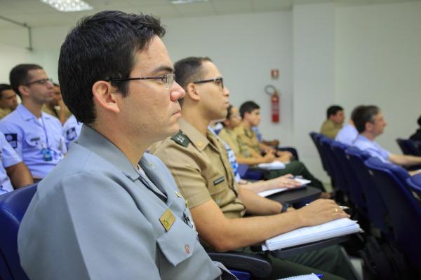 Curso reuniu militares das três Forças Armadas