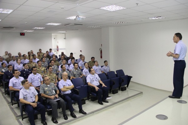 Militares também realizaram curso voltado para sensoriamento remoto ótico