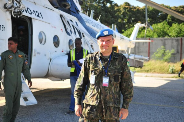 Pela primeira vez, um oficial da Força Aérea Brasileira ocupa vaga aberta a todos os países-membros da ONU