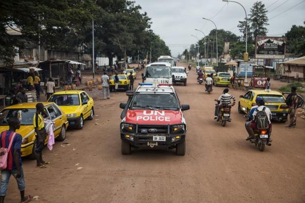 A cidade de Bangui é sede do Quartel-General da MINUSCA