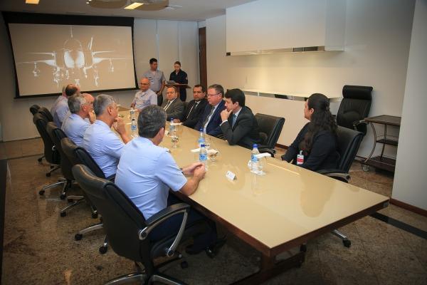 Acordo visa implementação e operação de sistemas espaciais