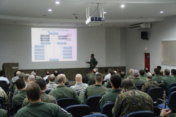 Exercício vai reunir representantes de 14 países e mais de cem aeronaves na Ala 10, em Natal (RN)