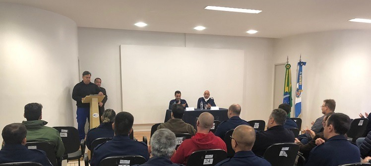 Curso em Porto Alegre (RS) promoveu conceito da gestão profissional e do gerenciamento do risco em voos