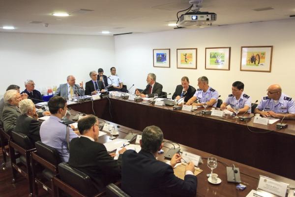 Comandante da Força Aérea Brasileira participou da reunião representando o Ministério da Defesa