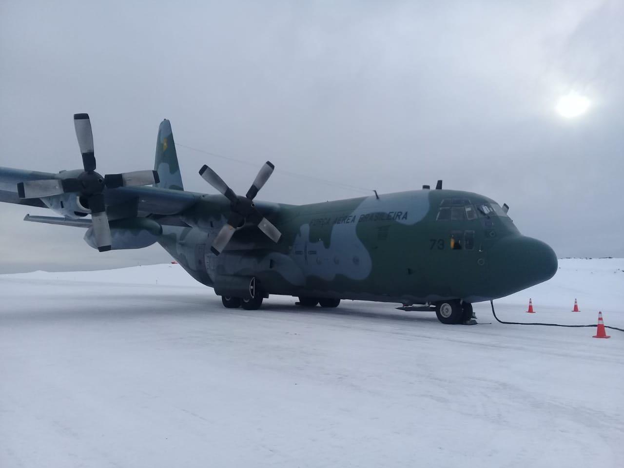Aeronave C-130 contribui para a presença do Brasil na região